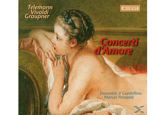 Ponseele, Ponseele/Il Gardellino/+ - Concerti D'Amore - (CD)