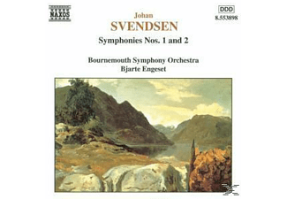 Bournemouth So, Engese/BOSO - Sinfonien 1 & 2 - (CD)