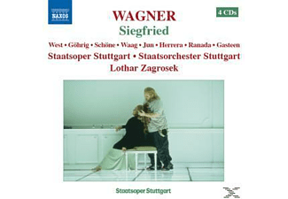 VARIOUS, West/Göhrig/Zagrosek/Stor Stut - Siegfried - (CD)