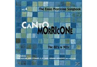 VARIOUS - Vol.4, Canto Morricone, The Ei - (CD)