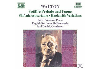 English Northern Philharmonia, Daniel,Paul/Donohoe,Peter - Spitfire/Sinfonia Concertante/ - (CD)