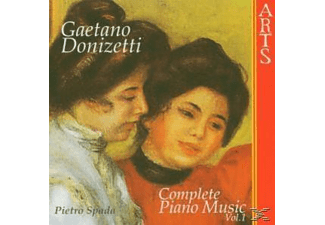 Pietro Spada - Complete Piano Music Vol.1 - (CD)
