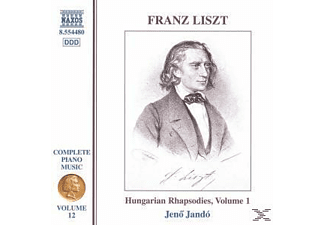 VARIOUS, Jenoe Jando - Klaviermusik Vol.12 - (CD)