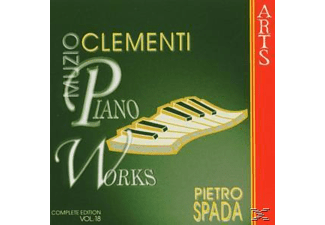 Pietro Spada - Complete Piano Music Vol.18 - (CD)