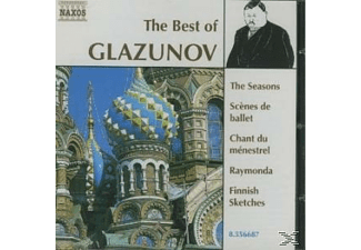 VARIOUS - Best Of Glazunov - (CD)