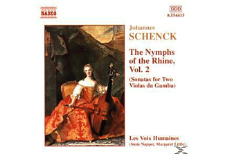 Les Voix Humaines - The Nymphs of the Rhine, Vol.2 - (CD)