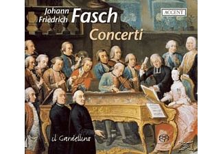 Il Gardellino - Concerti From Dresden And Darmstadt - (SACD Hybrid)