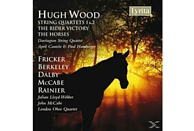 Darlingtonstring Quartet - Hugh Wood: String Quartets Nos. 1 & 2/ The Rider Victory/ Th [CD]