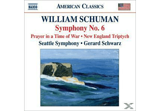 William & Seattle Symphony Orchestra Schumann, Gerard/seattle Symphony Orchestra Schwarz - Sinfonie 6/Prayer/Three Pieces - (CD)