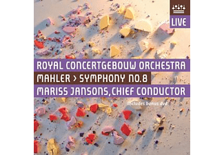 Royal Concertgebouw Orchestra - Symphony No.8 - (CD + Blu-ray Disc)