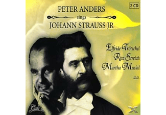 Peter Anders - Sings Johann Strauss  Jr. [Doppel-cd] - (CD)