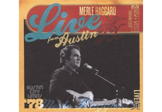 Merle Haggard - LIVE FROM AUSTIN TEXAS 1978 - (CD)