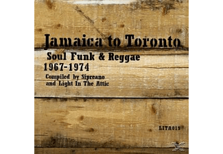 VARIOUS - Jamaica To Toronto Soul, Funk & Reggae 1967-1974 [CD]