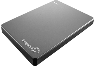 SEAGATE Backup Plus Portable Drive 2TB Silver - (STDR2000201)