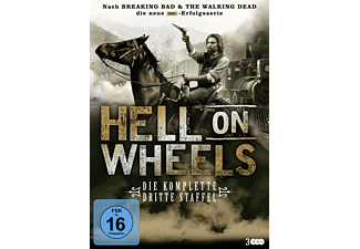 Hell on Wheels - Staffel 3 - (DVD)