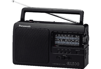 PANASONIC Radio portable (RF-3500E-K)