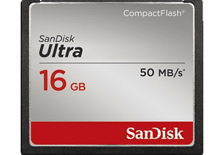 SANDISK Carte mémoire Compact Flash Ultra 16 GB (123861)