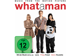OST/Various - What A Man (Deluxe Edt.) - (CD + DVD Video)