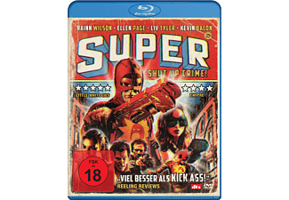 Super - Shut Up, Crime! - (Blu-ray)