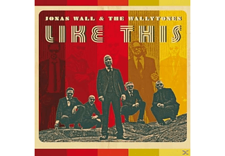 Jonas Wall, The Wallytones - Like This - (CD)