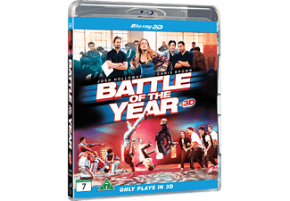 Battle of the Year Blu-ray 3D