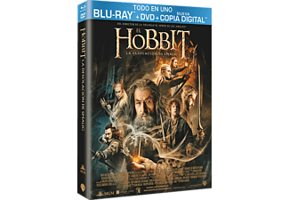 El Hobbit: La Desolación De Smaug (DVD + BD + Copia Digital) - Blu-ray