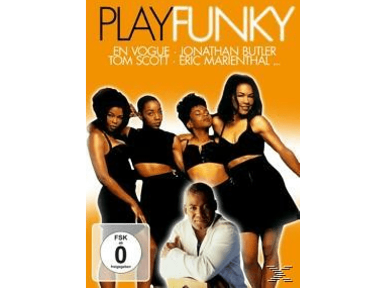 VARIOUS - Play Funky [DVD]