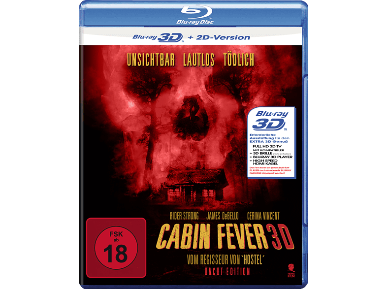 Cabin Fever (Uncut Edition) [3D Blu-ray]