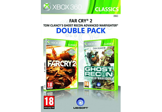 Compilation Far Cry 2 + Ghost Recon Advanced Warfighter  Xbox 360