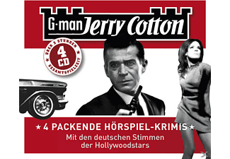 Jerry Cotton - Box mit 4 Hörspielen - 4 CD - Krimi/Thriller