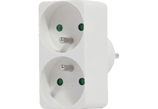 CHACON Bloc multiprise Blanc (48000)