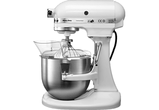 KITCHENAID 5KPM5EWH Heavy Duty, Küchenmaschine, Weiß