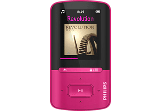 PHILIPS Mp4-speler 4 GB roze (SA4VBE04PN/12)