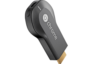 Reproductor multimedia - Google Chromecast, HDMI, compacto, color negro