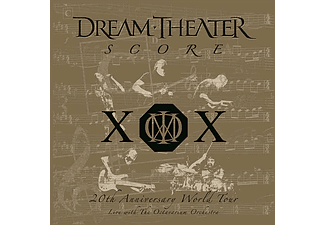Dream Theater - Score - 20th Anniversary World Tour - Live With The Octavarium Orchestra (Vinyl LP (nagylemez))