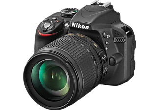 NIKON Appareil photo reflex D3300 + 18-105mm (VBA390K005)