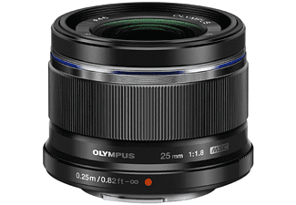 OLYMPUS Objectif standard M.Zuiko Digital 25mm F1.8 (V311060BE000)