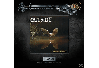 Outside - Never In Security - (CD)