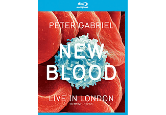 Peter Gabriel - New Blood - Live in London (Blu-ray + DVD)
