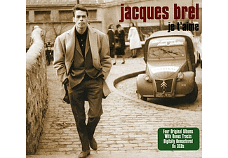 Jacques Brel - Je T'aime (CD)