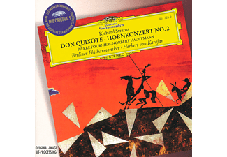 Carl August Nielsen, Fournier/Hauptmann/Karajan/BP - Don Quixote/Hornkonzert 2 - (CD)