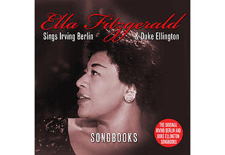 Ella Fitzgerald - Sings Irving Berlin & Duke Ellington Songbooks (CD)