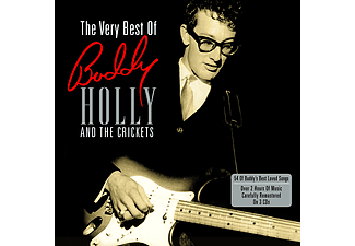 The Crickets & Buddy Holly - The Very Best Of - 3 lemezes, 2011-es kiadás (CD)