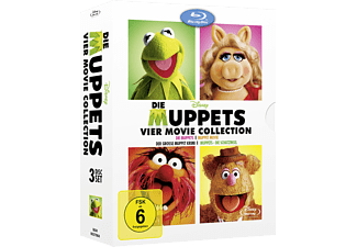 Die Muppets - 4 Movie Collection - (Blu-ray)