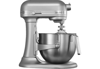 KITCHENAID 5KSM7591XESM Heavy Duty, Küchenmaschine, Silber/Metallic