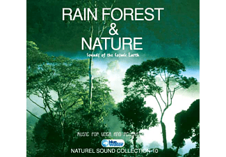 JET PLAK Rain Forest&Nature Natural Sound Collection 10 CD
