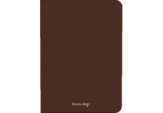 HAPPY PLUGS Ipad Air Book Case - Brun