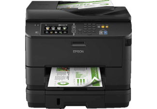 EPSON WorkForce WF-4640DTWF, 4-in-1 Tinten-Multifunktionsdrucker, Schwarz