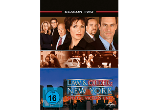 Law & Order New York: Special Victims Units - Staffel 2 - (DVD)