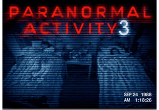 ESEN Paranormal Activity 3 DVD